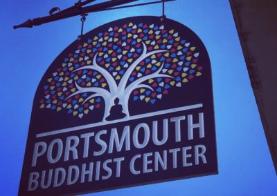 Portsmouth Buddhist Center sign